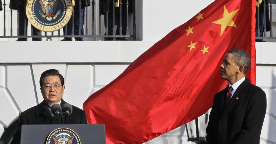 Estados Unidos China relações