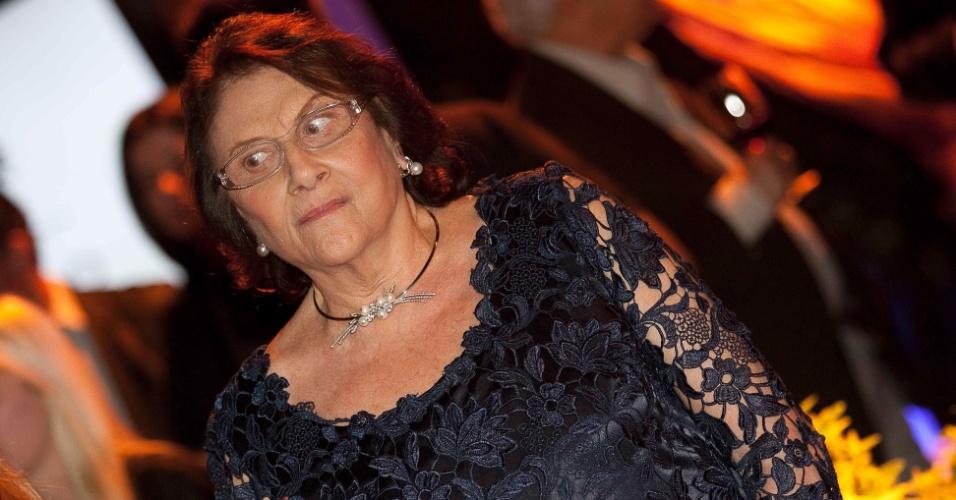 A bilionária Lina Maria Aguiar é uma das herdeiras do Bradesco