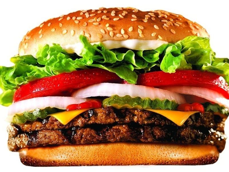 Lanche do Burger King