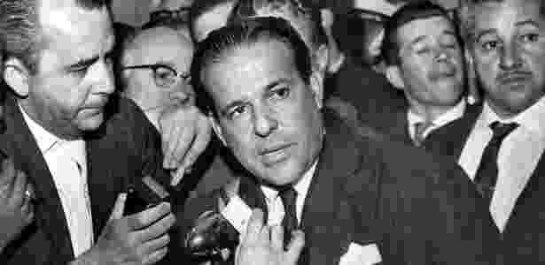 Presidente João Goulart, em foto de setembro de 1961 - Acervo UH/Folhapress