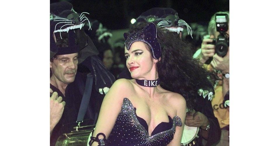 Luma de Oliveira carnaval Eike Batista álbum