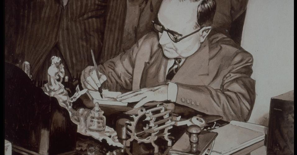 03.10.1953 - Getulio assina lei 2004