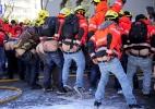 Protestos na Grécia - Nikolas Giakoumidis/AP
